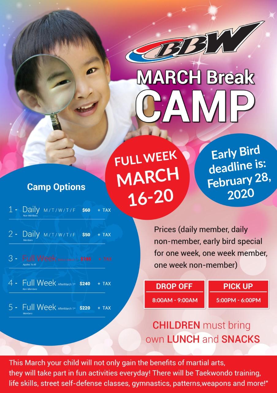 March Break Poster